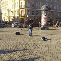 Photo taken at Sennaya Square by One love P. on 3/16/2013