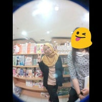 Photo taken at Gramedia by Dinar F. on 10/1/2016