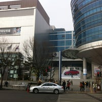 Photo taken at I'Park Mall by Young Jun K. on 1/20/2013