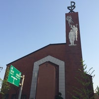 Photo taken at Jungang-dong Catholic Church by Young Jun K. on 5/14/2014