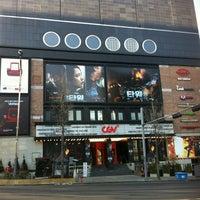 Photo taken at CGV Cheongdam Cinecity by Young Jun K. on 1/10/2013