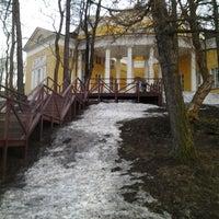 Photo taken at Люблинский пруд by Ekaterina V. on 4/17/2013