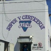 Photo taken at Super y Carniceria Leyva by Gustavo M. on 4/21/2013