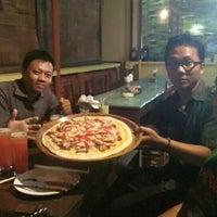 Photo taken at Pizza Sawah by arga b. on 5/23/2016