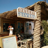 Photo taken at Desert Divers Dahab by Ibrahim A. on 7/8/2016