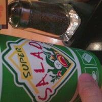 Photo taken at Super Salads by Kanki C. on 10/1/2012
