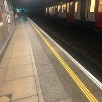 Photo taken at Upton Park London Underground Station by Priscilla M. on 11/24/2017