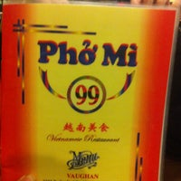 Photo taken at Pho Mi 99 by Wilson on 3/10/2013