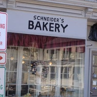 Photo taken at Schneider's Bakery by Theresa M. on 3/27/2013