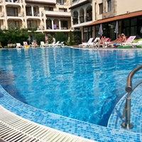 Photo taken at Rose Village Swimming Pool by Svetlana V. on 8/18/2013