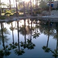 Photo taken at Hyatt Regency Indian Wells Resort & Spa by Grace O. on 10/10/2012