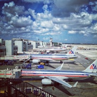 Photo taken at Miami International Airport (MIA) by Jaime D. on 7/29/2013