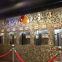 Photo taken at Forever Yogurt by Jenn on 10/17/2012