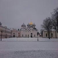 Das Foto wurde bei Novgorod Kremlin von Dmitry K. am 2/22/2016 aufgenommen