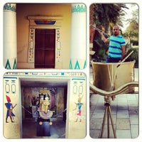 Photo taken at The Pharaonic Village by Ahmad A. on 6/15/2013
