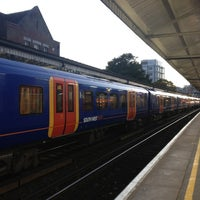 Photo taken at Basingstoke Railway Station (BSK) by Ahmad A. on 10/16/2012