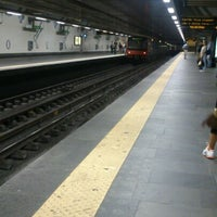 Photo taken at Metro Cais do Sodré [VD] by Carla S. on 9/22/2012