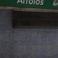 Photo taken at Metro Arroios [VD] by Carla S. on 9/26/2012