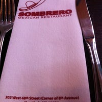 Photo taken at Sombrero Mexican Restaurant by Melissa on 2/2/2013
