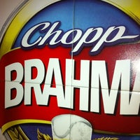 Photo taken at Quiosque Chopp Brahma by Katia Lessandra on 12/7/2012