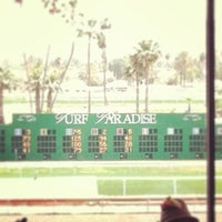 Photo taken at Turf Paradise by Mike B. on 5/4/2013