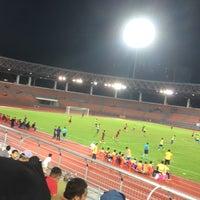 Photo taken at Stadium KLFA Cheras by Zulhafiq M. on 12/30/2017