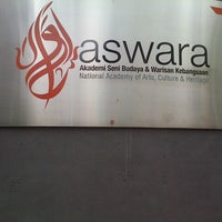Photo taken at Akademi Seni Budaya dan Warisan Kebangsaan (ASWARA) by Danny D. on 7/6/2013