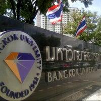 Photo taken at Bangkok University International College (BUIC) by Jens T. on 8/27/2013