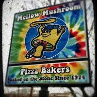 Photo taken at Mellow Mushroom by Adam S. on 1/5/2013
