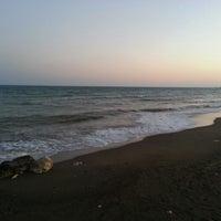 Photo taken at Tece Plajı by Yücel Y. on 9/25/2013