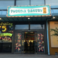 Photo taken at Phoenix Bakery by David N. on 3/29/2013