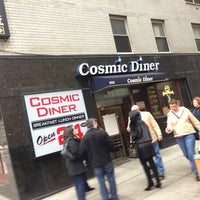 Photo taken at Cosmic Diner by David N. on 1/12/2013