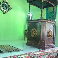 Photo taken at Masjid Al Fajri Kel. Kayu Ara by Apri W. on 7/16/2013