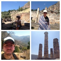 Photo taken at Archaeological Site of Delphi by Jonathan on 8/20/2013