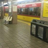 Photo taken at Keihan Yodoyabashi Station (KH01) by コージパパ on 1/6/2013