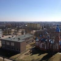 Photo taken at Bauskas Valsts ģimnāzija by Martins M. on 4/16/2013