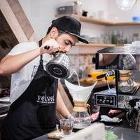 Das Foto wurde bei Cafe Velvet Brussels von Ilse G. am 10/10/2016 aufgenommen