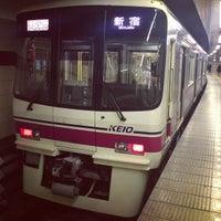 Photo taken at Keiō-hachiōji Station (KO34) by jahumming on 2/21/2013