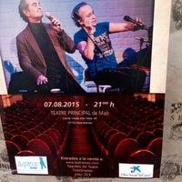 Photo taken at Teatre Principal by Nolen R. on 8/7/2015