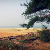 Photo taken at Padubidri Beach by Surej S. on 2/24/2013