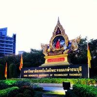 Photo taken at King Mongkut's University of Technology Thonburi (KMUTT) by LiBra G. on 1/22/2013