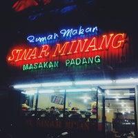 2/23/2014 tarihinde rio o.ziyaretçi tarafından RM Sinar Minang'de çekilen fotoğraf