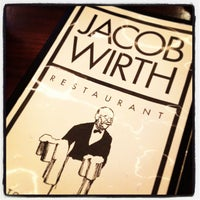 Photo taken at Jacob Wirth Restaurant by Christopher G. on 12/12/2012
