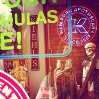Photo taken at Kiehl's by Kiehl's H. on 11/5/2012