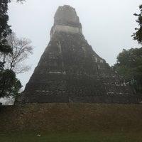 Photo taken at Parque Nacional Tikal by Tamara on 4/1/2017