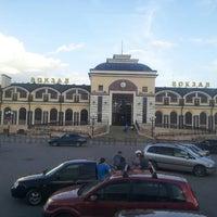 Photo taken at Ж/д вокзал Чебоксары by Anastasiya N. on 6/7/2013