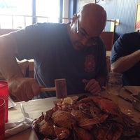 Photo taken at Blue Crab by Israel N. on 9/6/2014