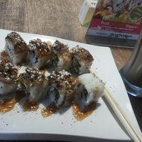 Photo taken at Sushi Den by Rina R. on 12/25/2014