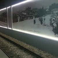 Photo taken at Osmangazi Metro İstasyonu by Ciğdem on 12/23/2012
