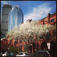 Photo taken at SW Corridor Park - Back Bay by Nicole H. on 4/20/2013